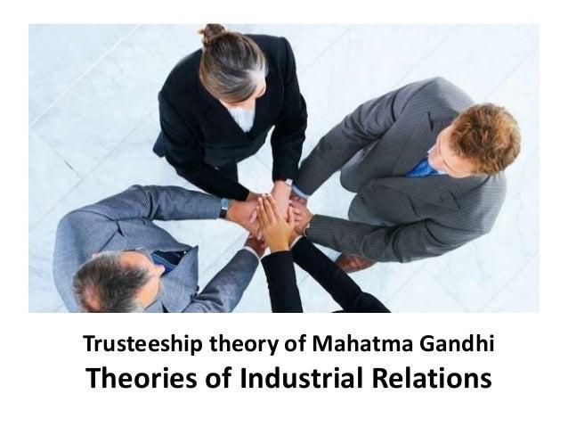gandhian trusteeship Sethi jai dev ed / trusteeship: the gandhian alternative / 1986 / new delhi 238 shriman narayan / wardha conference on trusteeship1973 / 1973 / wardha 58.