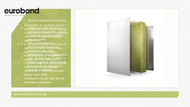 Composite Panel And Non Combustible Insulation Solutions