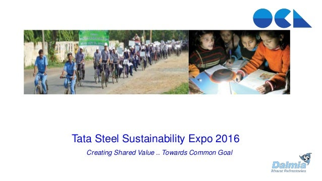 Tata Steel Sustainability Expo 2016Tata Steel Sustainability Expo 2016Tata Steel Sustainability Expo 2016Tata Steel Sustai...