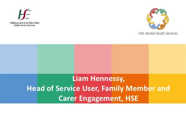 Liam Hennessy Head Of Service User Family Member And Carer Engagem