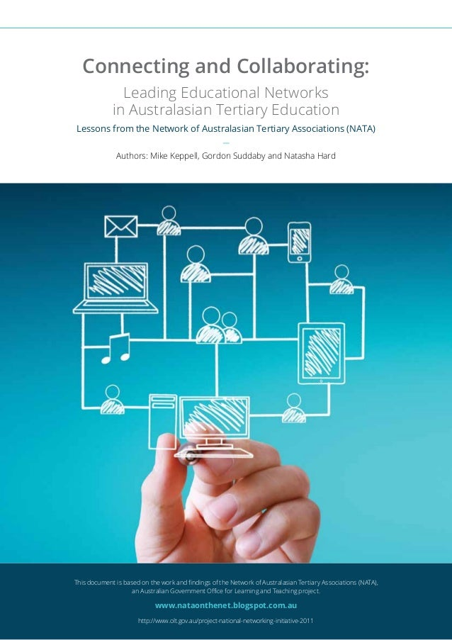 1 Lessons from the Network of Australasian Tertiary Associations (NATA) This document is based on the work and findings of...