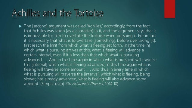 an analysis of the zenos arrow argument by aristotle and the motionless arrow The motionless arrow: aristotle's thoughts on zeno's arror argument essays: over 180,000 the motionless arrow: aristotle's thoughts on zeno's arror argument essays.