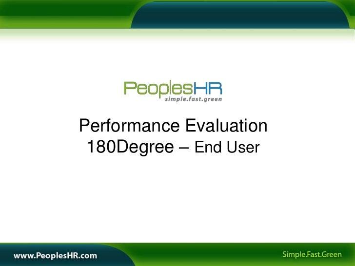 180 degree performance appraisal