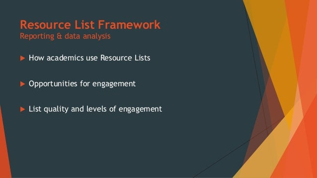 Academic Engagement  Who to engage with & which modules to focus on  Communicate findings & project aims  Get feedback