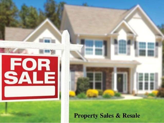 Property Sales & Resale