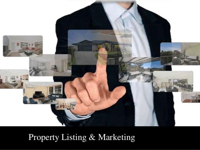 Property Listing & Marketing