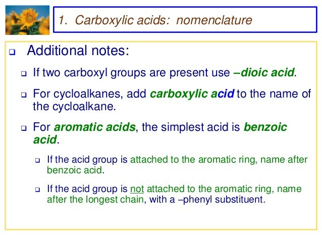 CARBOXYLIC ACID USES DOWNLOAD