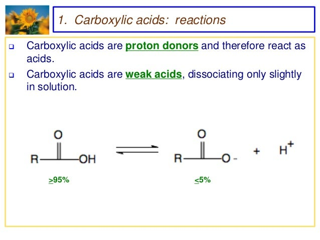 carboxylic acids and their derivatives pdf