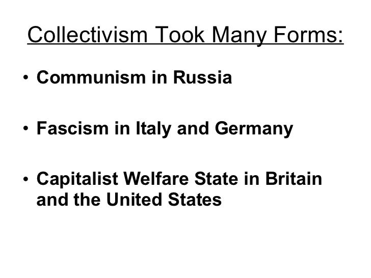 A history of collectivism in russia
