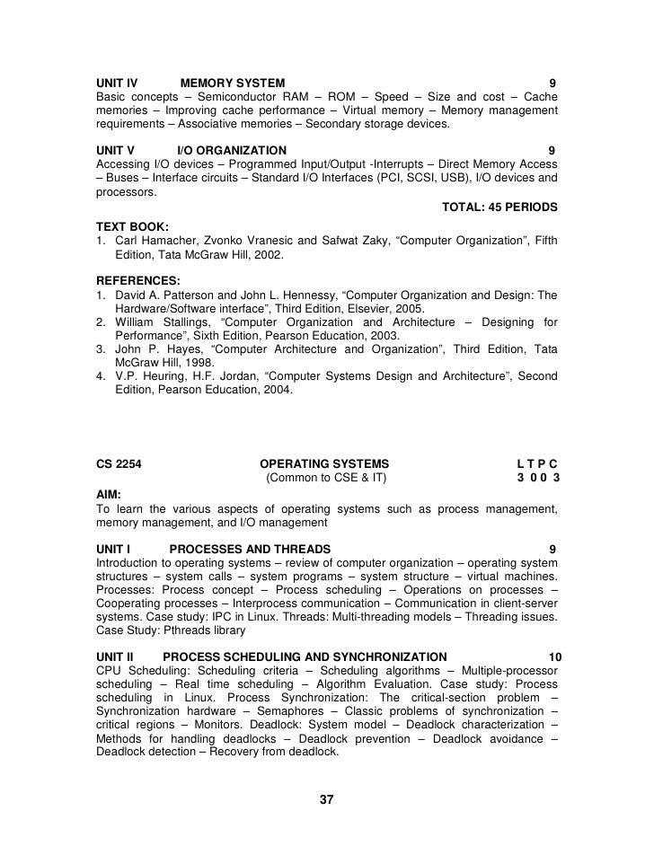 hamacher vranesic zaky computer organization 5th edition