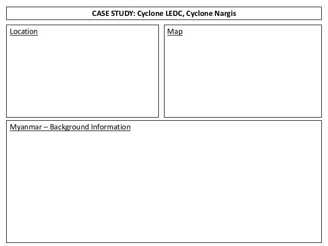 cyclone nargis case study ppt