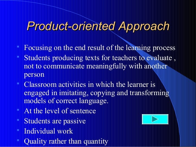 process oriented writing Process-oriented writing support with the digital writing aid dutch  an inter- disciplinary approach to the development of writing skills in.