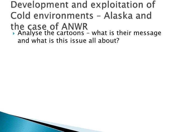 Analyse the cartoons – what is their message and what is this issue all about?<br />Development and exploitation of Cold e...