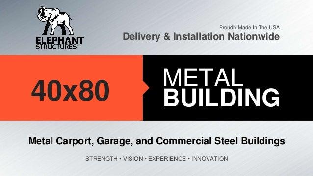 40x80 metal building build id 29148 for 40x80 steel building