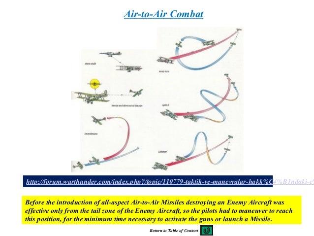 128 http://forum.warthunder.com/index.php?/topic/110779-taktik-ve-manevralar-hakk%C4%B1ndaki-e% Air-to-Air Combat Before t...