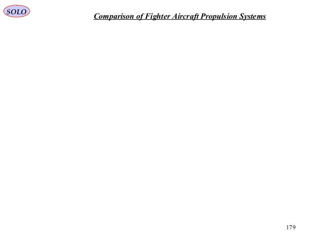 179 Comparison of Fighter Aircraft Propulsion Systems SOLO