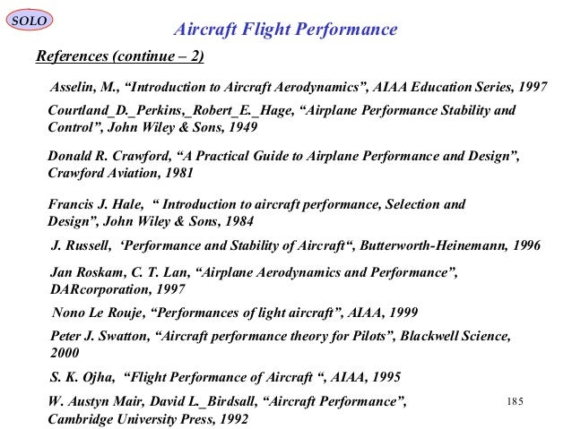 14 fixed wing fighter aircraft- flight performance - ii