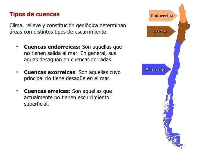 Ríos de ChileEn general los ríos de nuestropaís escurren de este a oeste,desde la Cordillera de los Andesal Océano Pacífic...