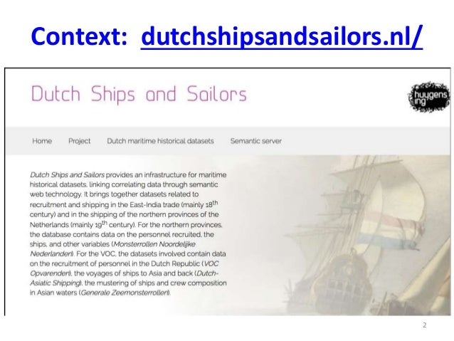 Linking historical ship records to a newspaper archive Slide 2