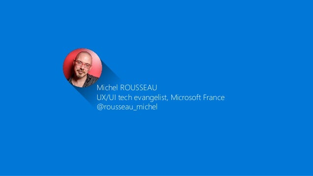 14 - it3D Summit 2016- HoloLens-michelrousseau-Microsoft Slide 2