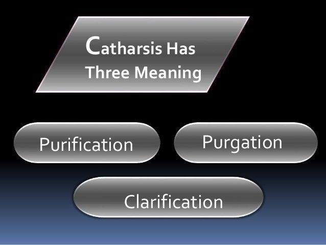 define catharsis literary term