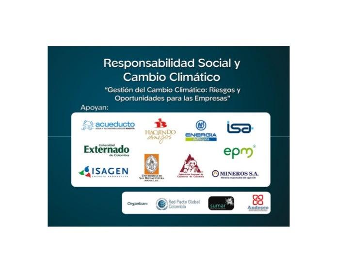 CAFICULTURA Y CAMBIO CLIMÁTICO            Fernando Gast H. PH D            Director Centro de Investigaciones de Café – Ce...