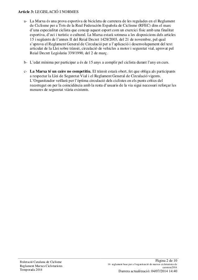 Reglament Pelegrí Pi Slide 2