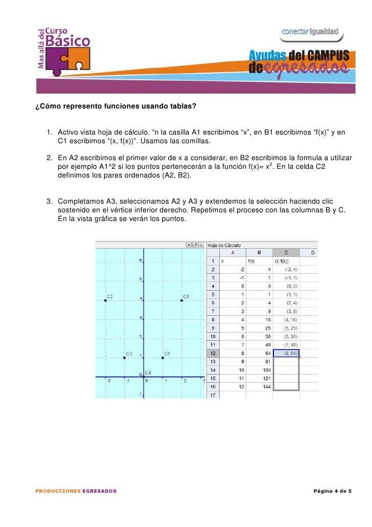 14 _Tutorial representación de funciones con geo gebra