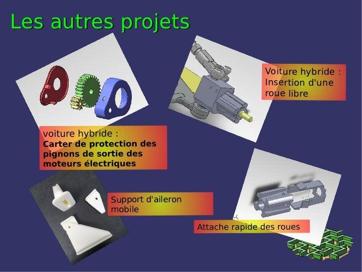 Les autres projets                              Voiture hybride:                              Insertion dune             ...