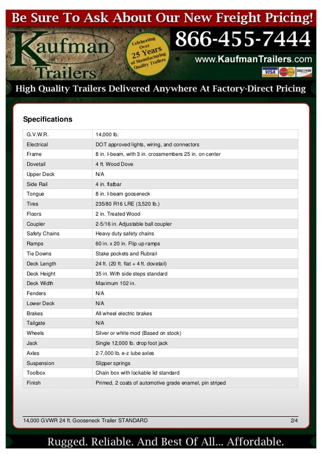 14000 gvwr 24 ft gooseneck trailer from kaufman trailers 2 638?cb=1405506722 14,000 gvwr 24 ft gooseneck trailer from kaufman trailers 4 Prong Trailer Wiring Diagram at creativeand.co