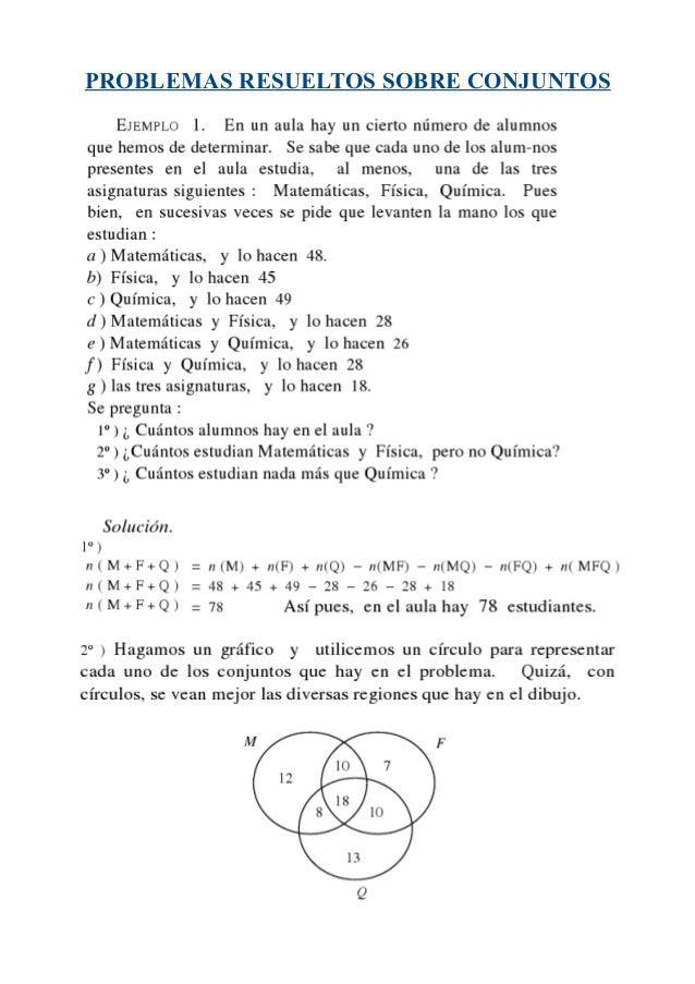 Diagrama de venn ejercicios resueltos logica auto wiring diagram 14003263 problemas resueltos de conjuntos rh es slideshare net diagrama de venn exemplos diagrama de venn para copiar ccuart Gallery