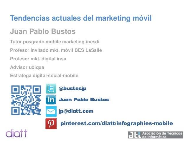 Tendencias actuales del Marketing Móvil 2014 Slide 2