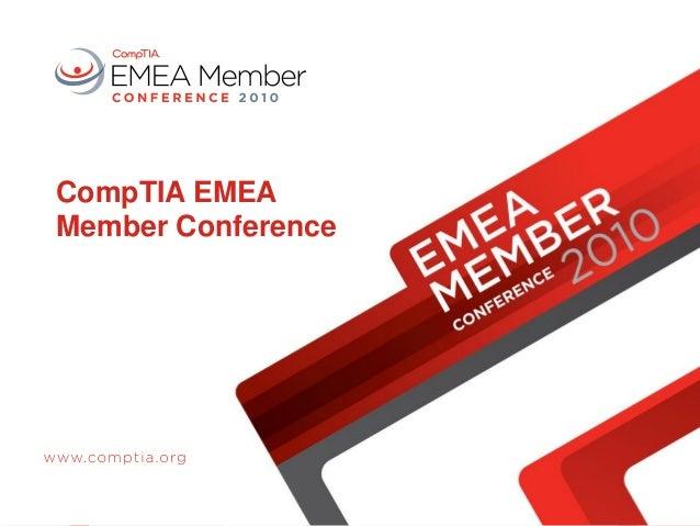 CompTIA EMEA Member Conference
