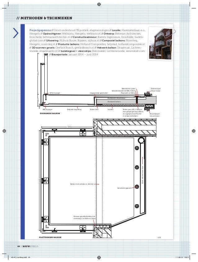 140109 artikel bouwwereld normteq composiet maakt groter - Isolatie grot enterree ...