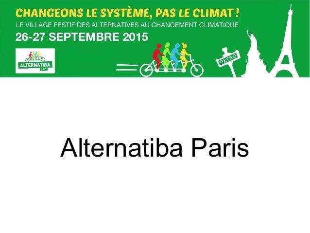 Alternatiba Paris