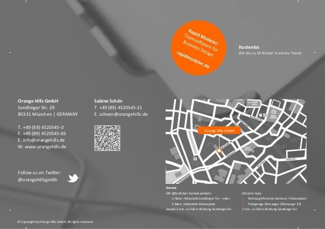 Kostenlos    (für  bis  zu  10  Nutzer  in  einem  Team)    Orange  Hills  GmbH   Sendlinger  St...
