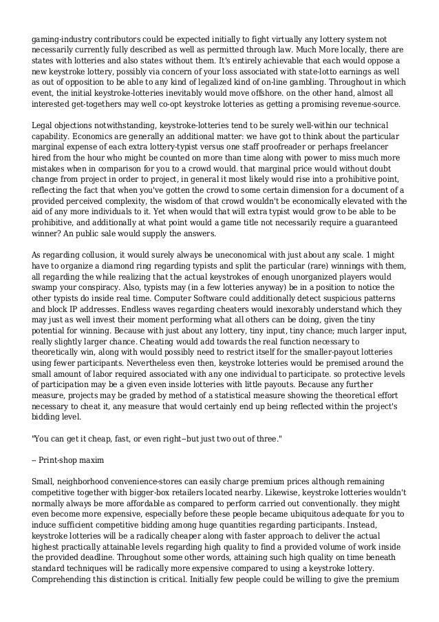 Argument paper on casino gambling casino free in las shuttle station vegas