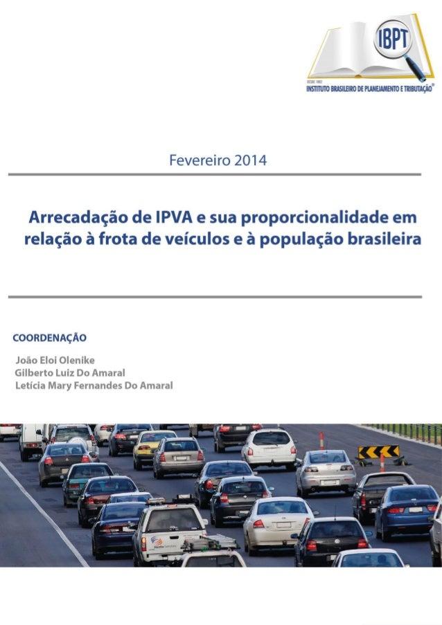 R. Gen, Aristides Athayde Junior, 350. 80730-370. Bigorrilho. Curitiba. Paraná Telefone: 41 3053-3219. www.ibpt.org.br