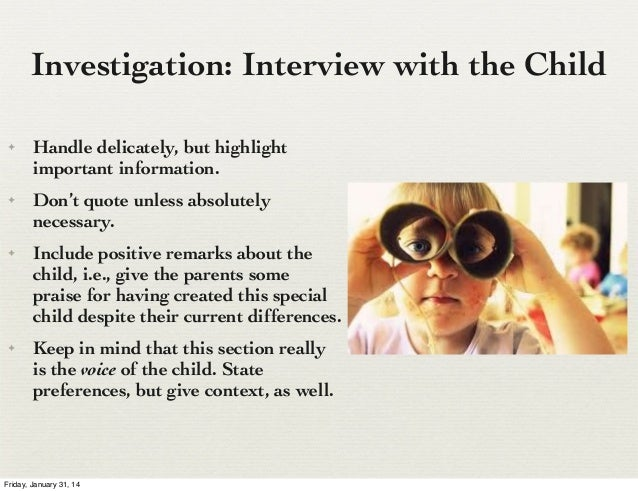 What is a guardian ad litem report?