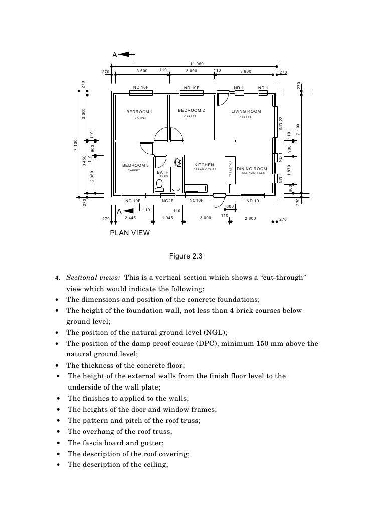 Read And Interpret Construction Drawings Amp Specifications