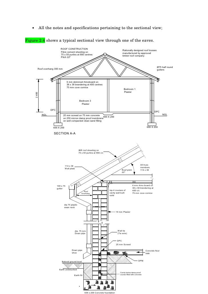 Read and Interpret Construction Drawings & specifications