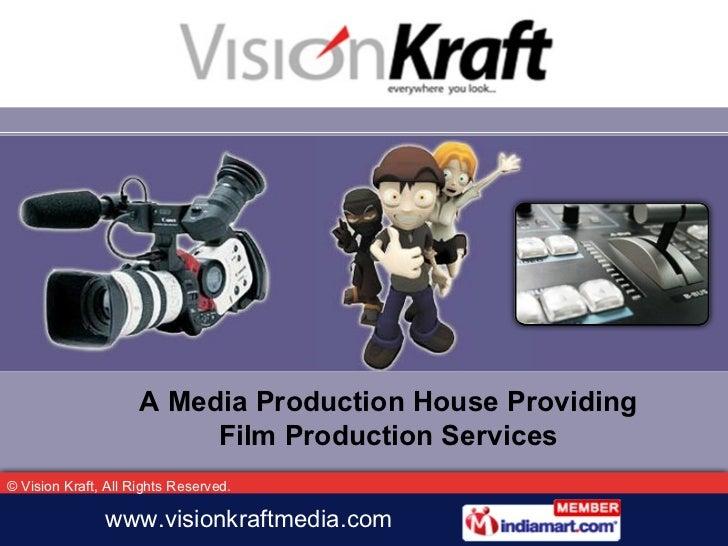 A Media Production House Providing Film Production Services