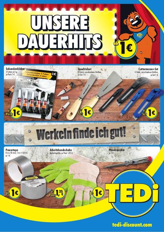 UNSERE DAUERHITS Sekundenkleber 5 Tuben je 2 g, je Pack 1 € Werkelnfindeichgut!Werkelnfindeichgut! Powertape 8 m x 50 mm; ...