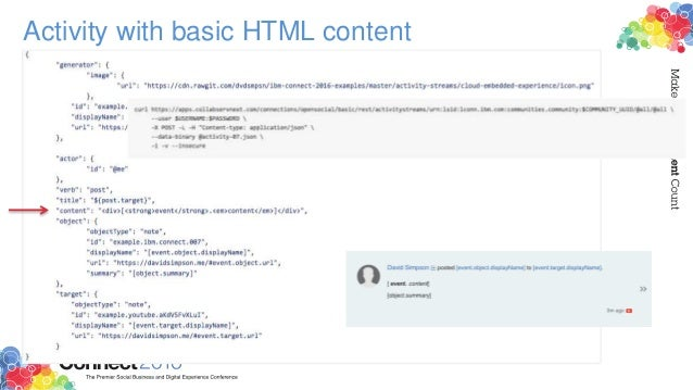Activity with basic HTML content