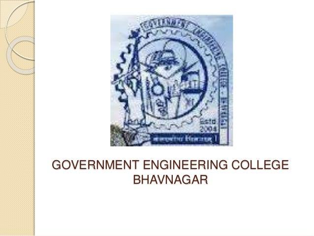 GOVERNMENT ENGINEERING COLLEGE BHAVNAGAR