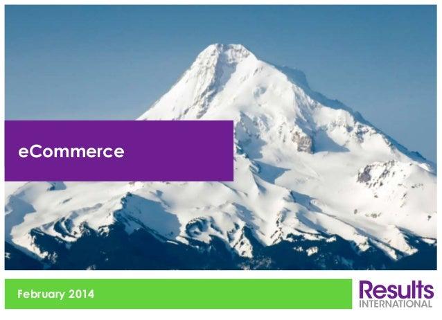 eCommerce  February 2014