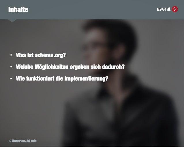 Schema.org - Strukturierte Daten und Rich Snippets Slide 2