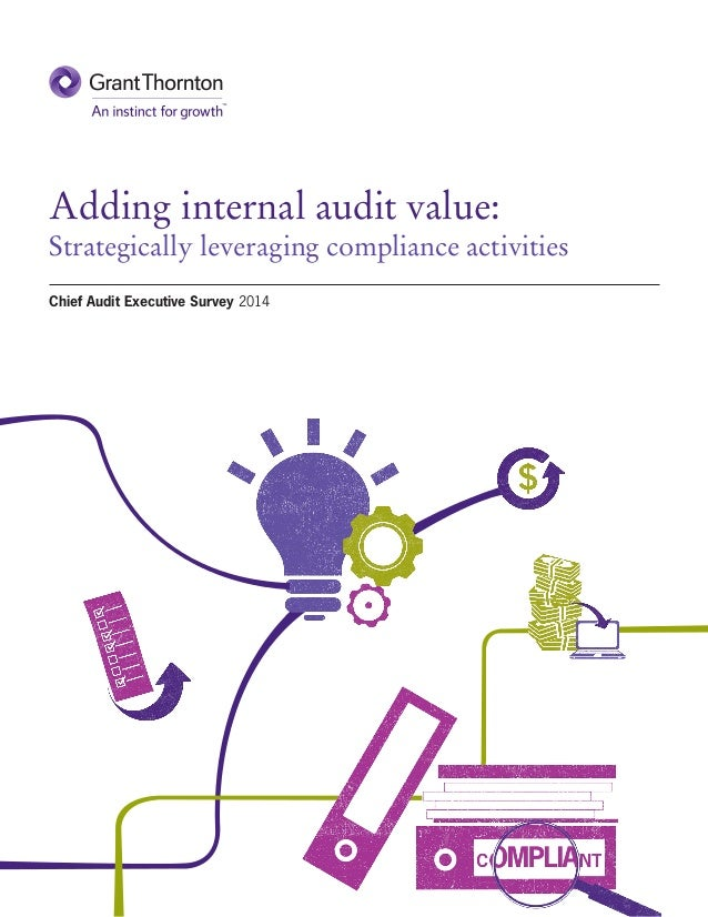 Adding internal audit value: Strategically leveraging compliance activities Chief Audit Executive Survey 2014