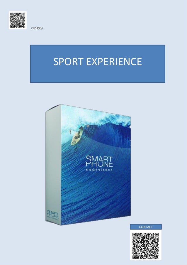 PEDIDOS  SPORT EXPERIENCE  CONTACT