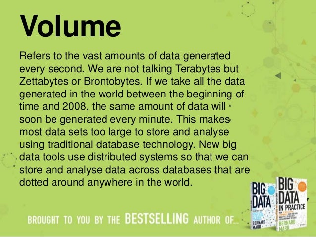 Big Data - The 5 Vs Everyone Must Know Slide 3